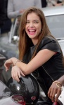 Barbara Palvin - on the set of a photo shoot at the Arc de Triomphe in Paris 10/1/17