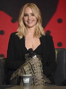 Jennifer Lawrence at TIFF Press Conference of 28