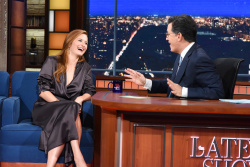Grace Gummer - The Late Show with Stephen Colbert: October 5th 2017