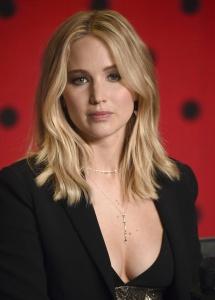 Jennifer Lawrence at TIFF Press Conference of 27