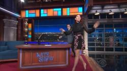 Jessica Biel on Colbert  9-8-17  (V/C)
