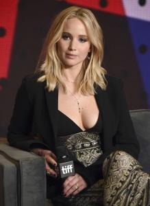Jennifer Lawrence at TIFF Press Conference of 19