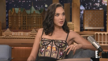 Gal Gadot - The Tonight Show Starring Jimmy Fallon 5th October 2017 1080i HDMania