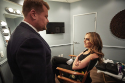 Elizabeth Gillies - The Late Late Show with James Corden: October 2nd 2017
