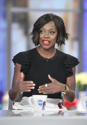 Viola Davis - The View: October 2nd 2017