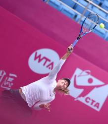 Maria Sharapova - WTA 2017 Tianjin Open Finals in China 10/15/17