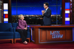 Hillary Clinton - The Late Show with Stephen Colbert: September 19th 2017
