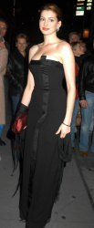 Anne Hathaway at the 2004 Princess Grace Awards in New York City - October 27, 2004