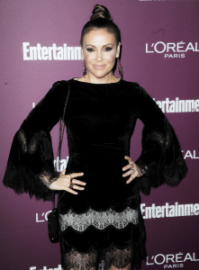 Alyssa Milano - 2017 Entertainment Weekly Pre-Emmy Party in West Hollywood (9/15/17)