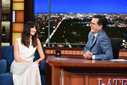 Caitriona Balfe - The Late Show with Stephen Colbert: September 7th 2017