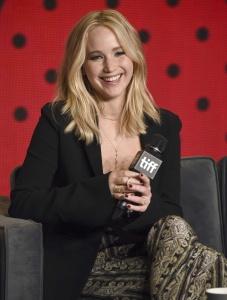 Jennifer Lawrence at TIFF Press Conference of 30