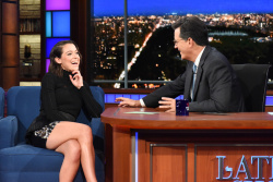 Tatiana Maslany - The Late Show with Stephen Colbert: September 22nd 2017