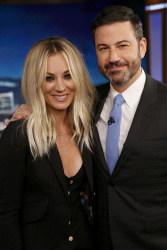 Kaley Cuoco - Jimmy Kimmel Live: September 28th 2017