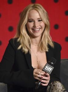 Jennifer Lawrence at TIFF Press Conference of 22