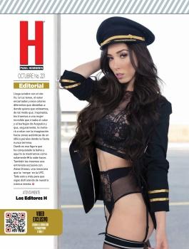 Danik Michell Revista H Octubre 2017 [FOTOS – PDF] 31