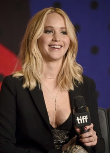 Jennifer Lawrence at TIFF Press Conference of 16