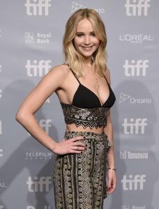 Jennifer Lawrence at TIFF Press Conference of 14