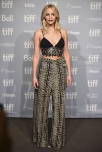 Jennifer Lawrence at TIFF Press Conference of 10