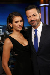 Nina Dobrev - Jimmy Kimmel Live: September 14th 2017