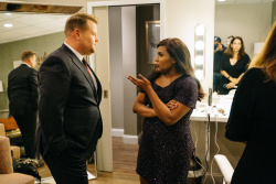 Mindy Kaling - The Late Late Show with James Corden: September 12th 2017