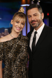 January Jones - Jimmy Kimmel Live: October 9th 2017