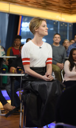 Mackenzie Davis - Good Morning America: October 13th 2017