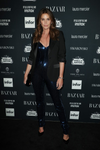 Cindy Crawford - Harper's Bazaar ICONS Party For New York Fashion Week (8/8/17)