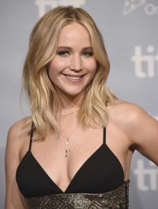 Jennifer Lawrence at TIFF Press Conference of 3