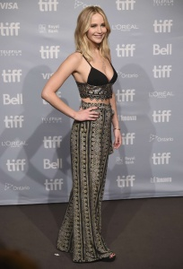 Jennifer Lawrence at TIFF Press Conference of 2