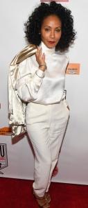 Jada Pinkett Smith - Wearing All-white Attending The Power Awards (10/20/17)