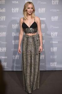 Jennifer Lawrence at TIFF Press Conference of 5