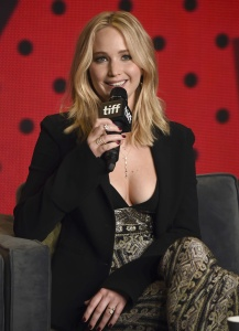Jennifer Lawrence at TIFF Press Conference of 23