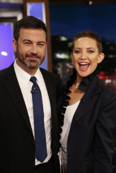 Kate Hudson - Jimmy Kimmel Live: October 12th 2017