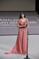 Monica Bellucci -                  Receiving Donostia Award 65th San Sebastian Film Festival September 27th 2017.