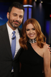 Isla Fisher - Jimmy Kimmel Live: October 5th 2017