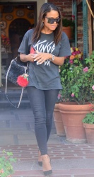 Christina Milian - Out in Beverly Hills 9/25/17
