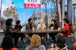 Judi Dench - The Talk: September 26th 2017