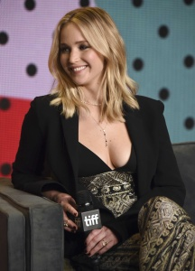 Jennifer Lawrence at TIFF Press Conference of 20