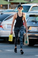 Nina Dobrev - Grocery shopping after her workout in LA 10/7/17