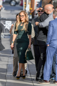 Jennifer Lopez - With Alex Rodriguez For 'Jimmy Kimmel Live' (10/2/17)