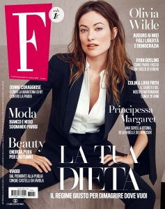 Olivia Wilde -                      F Magazine (Italy) October 2017.