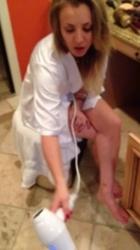 Kaley Cuoco Nipple Slip Video - 10/10/17