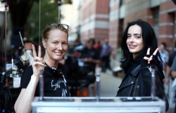 Krysten Ritter - On the set of 'Jessica Jones' in NYC 9/20/17
